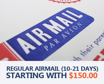 Free Regular Airmail