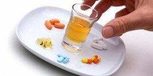 alcohol and antibiotics