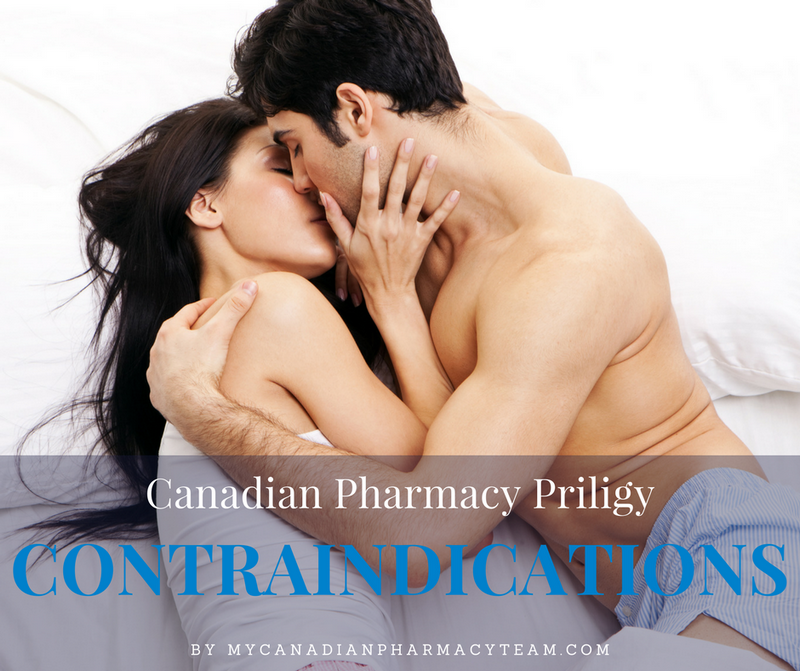 Canadian Pharmacy Priligy contraindications