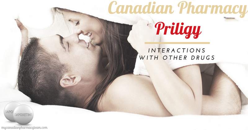 Canadian Pharmacy Priligy drug interactions