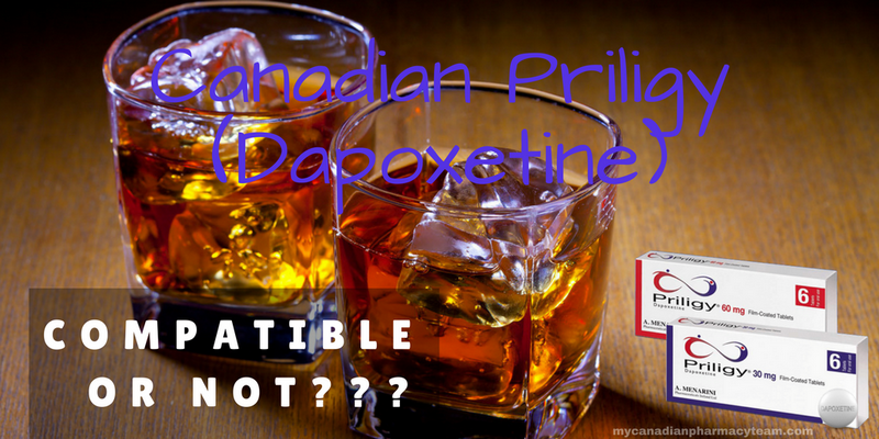 Canadian Priligy (Dapoxetine) and alcohol