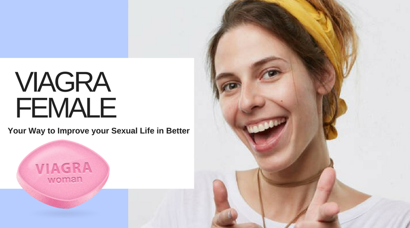 Pink viagra for women